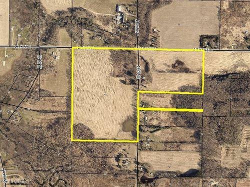 82 Acres Sw Mi, 5000' Road Front : Bangor : Van Buren County : Michigan