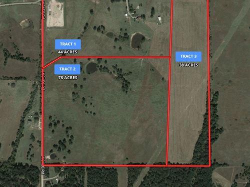 Central Oklahoma Ranch Auction 160 : Agra : Lincoln County : Oklahoma