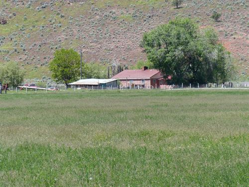 Home 68+ Acres Just West : Hines : Harney County : Oregon