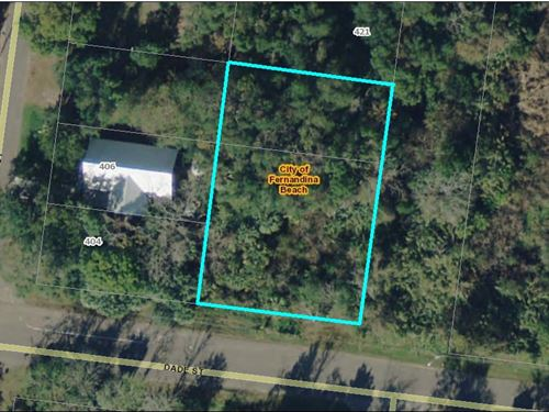 .36 Acres, Fernandina Beach : Fernandina Beach : Nassau County : Florida