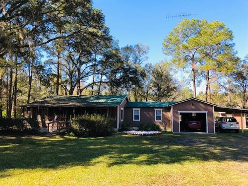 Quaint 3/2 Home On 3 Acres 777108 : Chiefland : Levy County : Florida