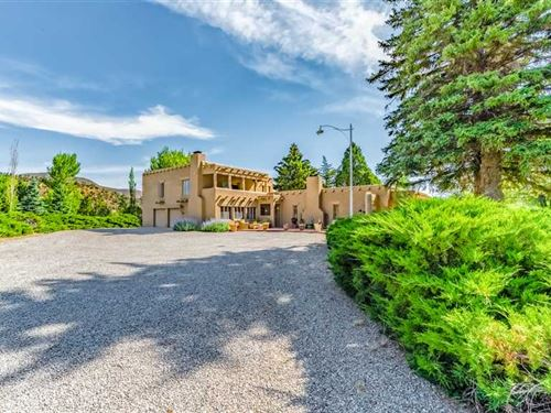 Southwest Style Home On 3 Acres WI : Ruidoso : Lincoln County : New Mexico