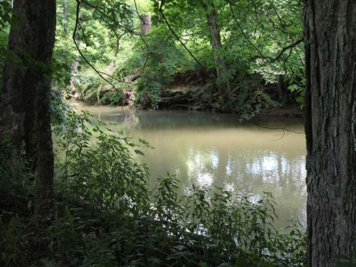 1.99 Acres Creek Frontage : Austin : Barren County : Kentucky