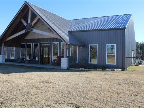 Steel Home Custom Built 10 Acres : De Kalb : Bowie County : Texas