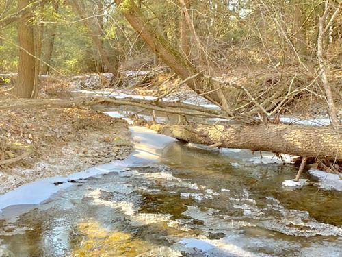 10 Acres, Meandering Stream : Millville : Columbia County : Pennsylvania