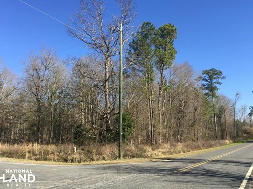 Eastover Homesite With Stream : Eastover : Richland County : South Carolina