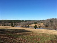 Beautiful Home Overlooking Pastures : Abbeville : Abbeville County : South Carolina