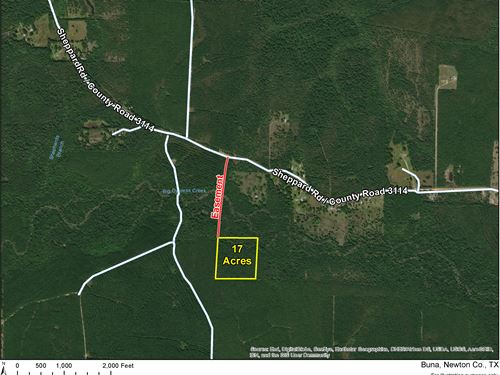 7 Acres Off Cr 3114 1/2 Mineral : Deweyville : Newton County : Texas