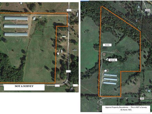 Turkey Farms, 6 Houses 2003-2005 : Lamar : Johnson County : Arkansas