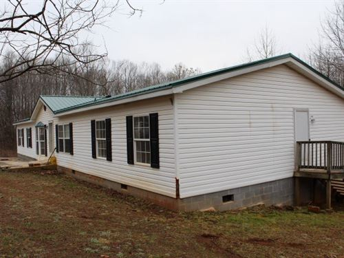 Double Wide 9.14 Acres Located : Critz : Patrick County : Virginia