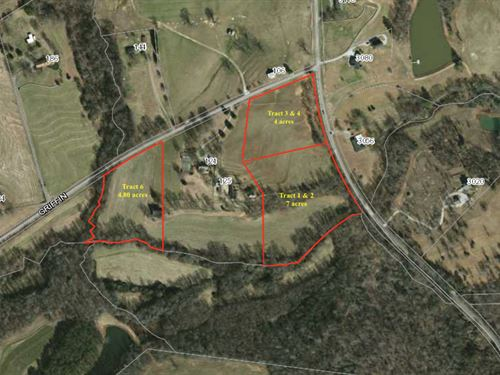 Mini Estates With Mtn Views : Easley : Pickens County : South Carolina