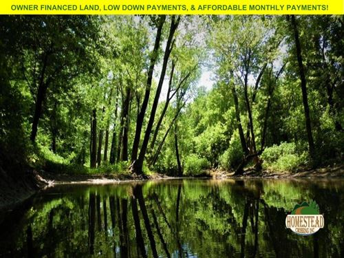 Creek Frontage Unrestricted Land : Ravenden : Lawrence County : Arkansas