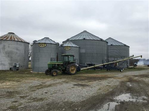 183,000 Grain Bins, Fully Oper : McCrory : Woodruff County : Arkansas