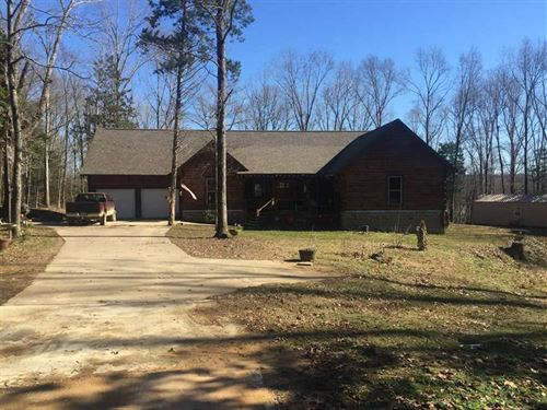 Price Reduced, Log House And 5 ac : McCarley : Carroll County : Mississippi