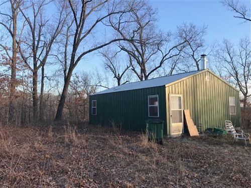 Cabin, Shop And 40 Acres Benton CO : Lincoln : Benton County : Missouri