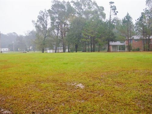 1+ Acres Home Site Corner Lot : Osyka : Pike County : Mississippi