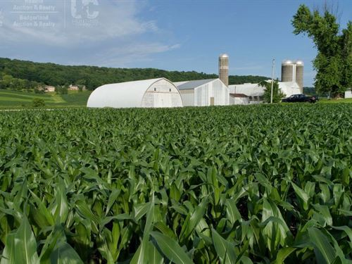 Investment Property Farm Buildings : Plain : Sauk County : Wisconsin
