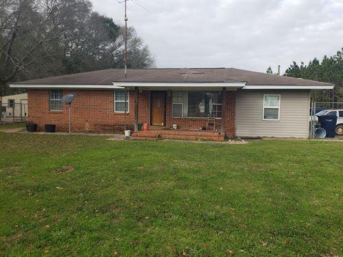 3B/2B Home 3 Acres Hartford : Hartford : Geneva County : Alabama