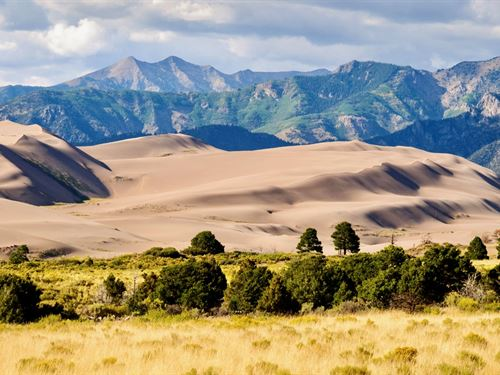 Ranch Near Sand Dunes National Park : Alamosa : Colorado
