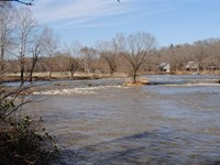 Spring River Lot Overlooking : Hardy : Sharp County : Arkansas