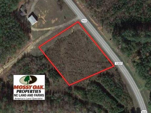 1.52 Acres of Commercial Land : Littleton : Warren County : North Carolina