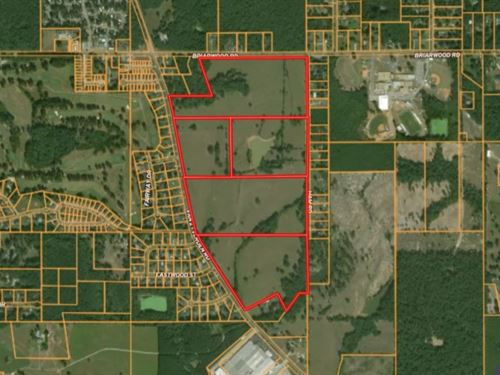 34 Acres Tract 1 In Lauderdale : Meridian : Lauderdale County : Mississippi