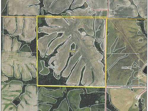 Row Crop/Hunting Farm For Sale : Unionville : Sullivan County : Missouri