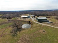 Dairy Farm With Home And 115 Acres : Crane : Stone County : Missouri