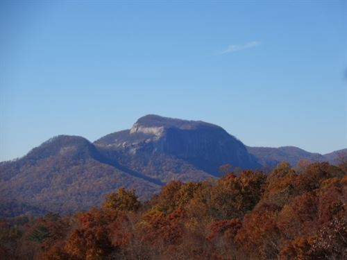 Table Rock And Watershed Views : Cleveland : Greenville County : South Carolina