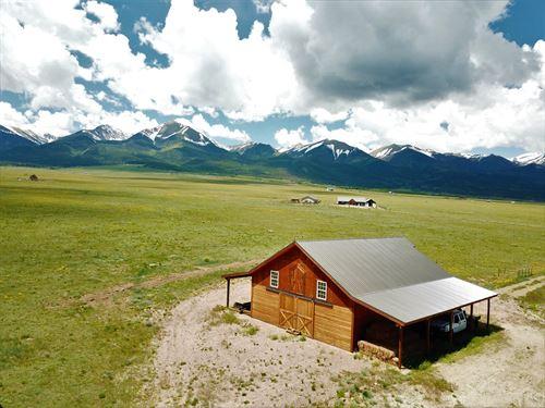 Beautiful Horse Property Custer : Westcliffe : Custer County : Colorado