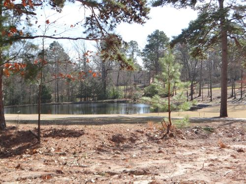 Golf Course Lot Holly Lake Ranch : Holly Lake Ranch : Wood County : Texas