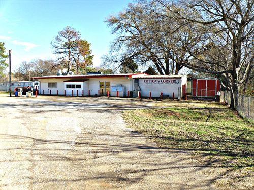 Country Store Home Lake Palestine : Frankston : Henderson County : Texas