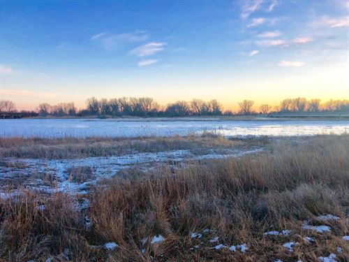 Shelton Exit River Frontage And Pon : Shelton : Buffalo County : Nebraska