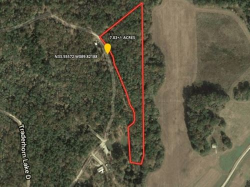 7.83 Acres In Carroll County In Mcc : McCarley : Carroll County : Mississippi