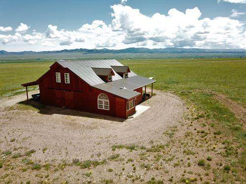 Barn/Home Horse Property Rocky : Westcliffe : Custer County : Colorado