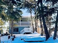 Lake Access Home on Echo Lake : Bigfork : Flathead County : Montana