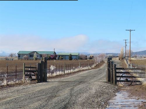 Country Home With 21.7 Acres : Canby : Modoc County : California