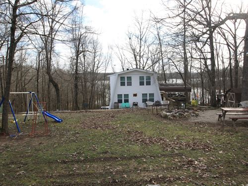 Missouri Lakefront Home Greenville : Greenville : Wayne County : Missouri