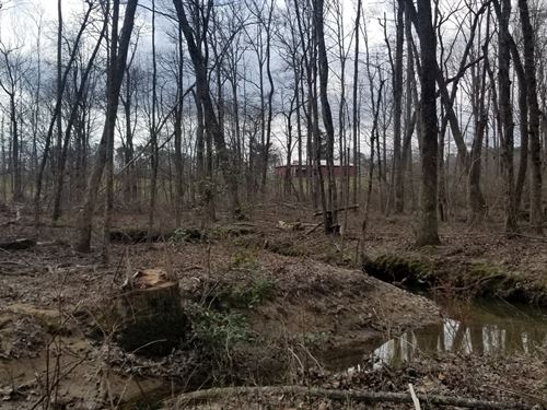 22.65+/- Acres Unrestricted, Creek : Tracy City : Grundy County : Tennessee