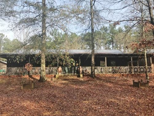 Home And 8.5 Acres : Ruth : Pike County : Mississippi