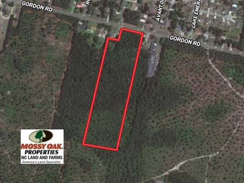 Under Contract, 14 Acres of Resid : Wilmington : New Hanover County : North Carolina