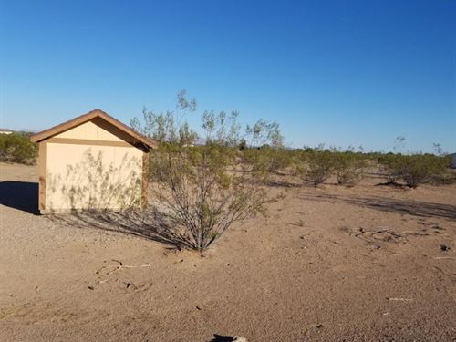 1 Acre Lot With Well : Bouse : La Paz County : Arizona