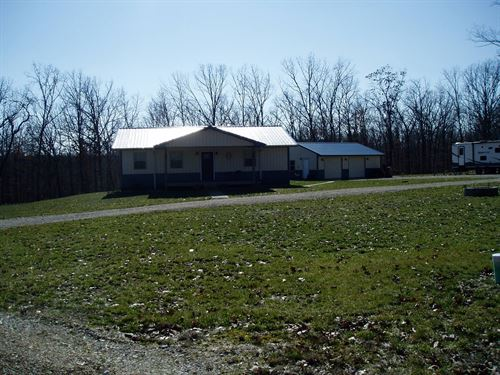 Country Home S.E.Missouri Close to : Wappapello : Wayne County : Missouri