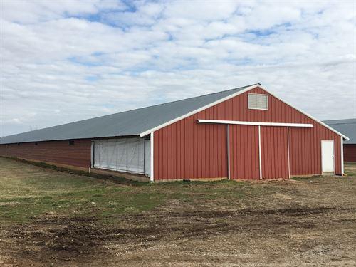 Turn-Key Upgraded Poultry Farm : Franklin : Simpson County : Kentucky