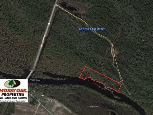 Under Contract, 7 Acres of Riverf : Atkinson : Pender County : North Carolina