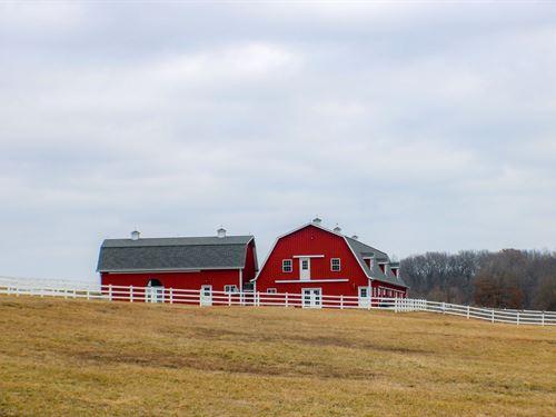 Luxury Ranch 5 BR Lodge Cooper : Bunceton : Cooper County : Missouri