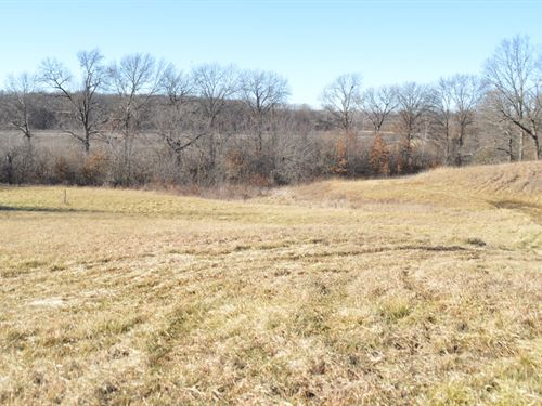 Top-Notch Hunting Farm, Excellent : Brashear : Adair County : Missouri