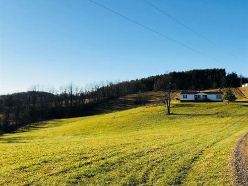 Floyd VA Home & Acreage For Sale : Floyd : Virginia