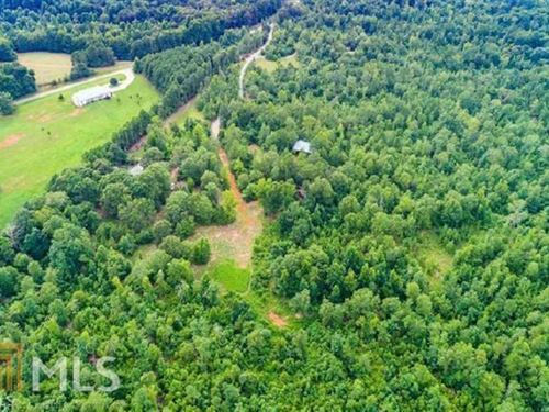 39.70 Acres In Rural Morgan County : Madison : Morgan County : Georgia