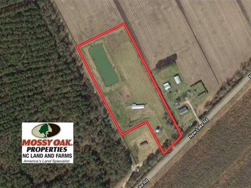 8.5 Acres of Recreational Land Wit : Belhaven : Hyde County : North Carolina